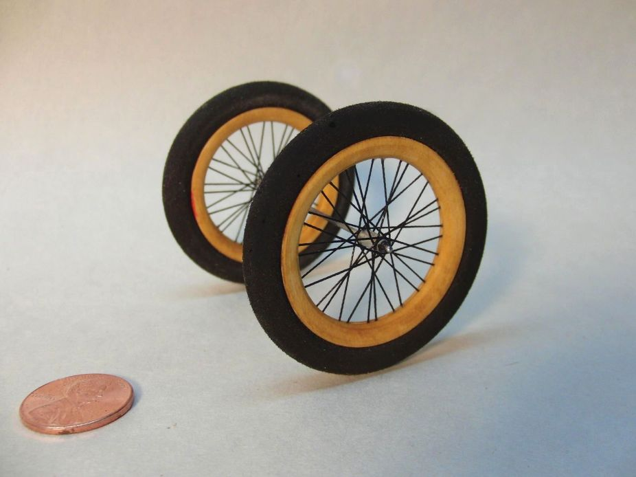 Custom Spoked Wheels